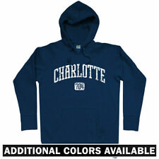 Charlotte 704 Hoodie - NC North Carolina Panthers Hornets UNC 49ers - Men S-3XL