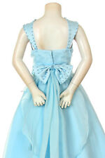 Girl Pageant Graducation Wedding Formal Dress  Coral Red White Ivory Aqua Blue