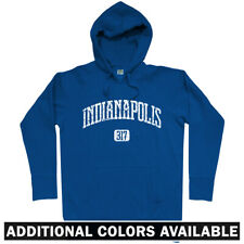 Indianapolis 317 Hoodie - IN Indiana Indy 500 Pacers Colts Indians - Men S-3XL