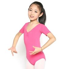 Girls Slim Ballet Costume Skirt Gymnastics Leotards Dance Dress SZ 3-12   U30