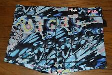 Fila Sport Compression Running Shorts Performance Wear Wicking Colorful $28.00