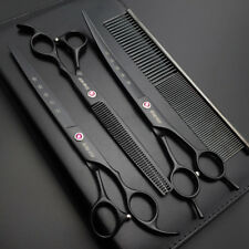 "8""Professional Sharp Edge Dog PET GROOMING SCISSORS SHEARS 4 PCS set+kit K559"