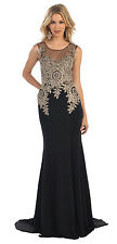 TheDressOutlet Sleeveless Formal Evening Gown