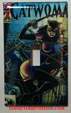 Catwoman Comic Book Cover Light Switch Power Outlet Cover Plate Home decor