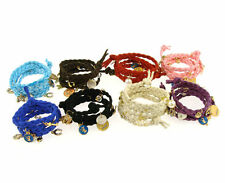Fashion Multicolor Knit Shell Heart Rabbit Hemp Rope Bracelets Top T