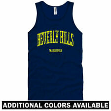 Beverly Hills Tank Top - CA California Los Angeles 90210 - Men / Women - S-2X