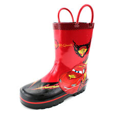 Disney Cars Boys Rain Boots CH14035 7/8 9/10 11/12 Lightning McQueen Wellies