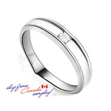 S925 Sterling Silver CZ Man's Ring/18k GP/Matching Girl's Ring Available