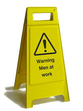 MEN AT WORK FREE STANDING A BOARD 800MM HIGH