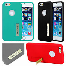 Designer Gorilla Tech Silicon TPU Gel Case Cover with Stand for New Mobile Phone