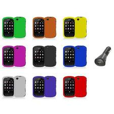 For Sprint Kyocera Milano C5120 Color Hard Snap-On Skin Case Cover+Car Charger