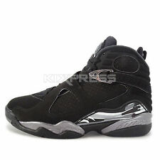 Nike Air Jordan 8 Retro [305381-003] Basketball Black/White-Grey