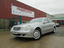 Mercedes-Benz E Class 2.7 E270 CDI Elegance 4dr ONLY 97k FMSH LEATHER 2 OWNERS