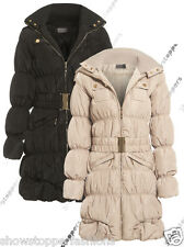 NEW PADDED Womens WInter PUFFA COAT Ladies Jacket Size 8 10 12 14 16 Parka