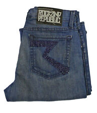 Rock And Republic Kasandra Sizzle Service Blue Jeans