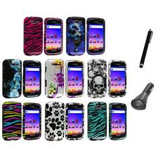 Design Hard Snap-On Case Cover+Charger+Pen for Samsung Galaxy S Blaze 4G T769