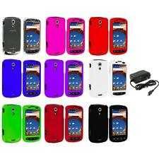 Color Hard Snap-On Case Cover+Wall Charger for Samsung Epic 4G Phone Accessory