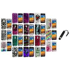 Design Hard Case Cover+Stylus Plug for Samsung Epic Touch 4G Sprint Galaxy S2