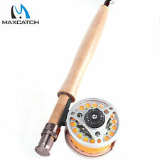 3WT Fly Rod And Reel Combo Medium-fast Fly Fishing Rod & Aluminum Reel & Line