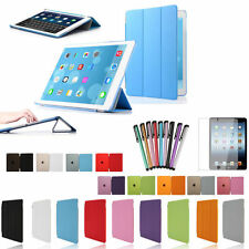 Ultra Slim Magnetic PU Leather Tri-Fold Smart Case Cover For iPad 2/3/4 Air Mini