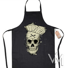 COOKING SKULL APRON COOKING Apron Present Work Clothing Chef