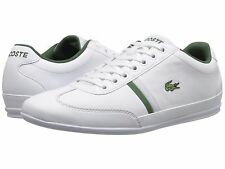 Men's Shoes Lacoste Misano Sport 116 1 Leather Sneaker 7-31SPM0030001 White New