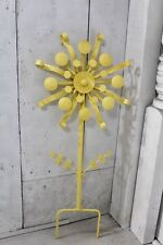 "46"" Large Metal Industrial Flower Garden Stake"