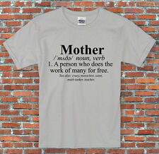 """""""Definition of a Mother"""" Gift Mother's Day T-Shirt S-2XL"""