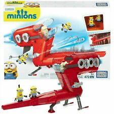 New Mega Bloks Despicible Me Kids Childrens Minion Supervillain Jet Toy CNF60