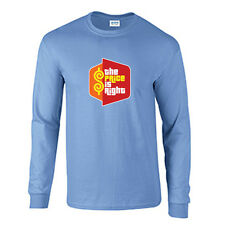 The Price Is Right Long Sleeve T-Shirt Vintage Game Show Tee Carolina Blue