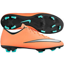 Nike Mercurial Victory V FG 2016 Soccer SHOES Brand New Mango/ Silver / Black