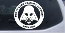 Star Wars Death Star Academy Darth Vader Car Truck Window Decal Sticker