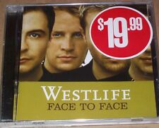 WESTLIFE FACE TO FACE - 11 track CD Excellent condition