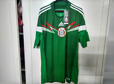 Adidas World Cup 2014 Official Mexico Home Soccer Jersey