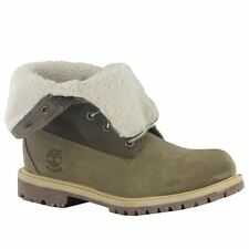 Timberland Authentic Tedy Fleece Waterproof Taupe Womens Boots