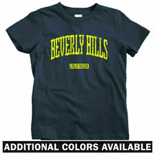 Beverly Hills California Kids T-shirt - Baby Toddler Youth Tee - 90210 CA Cali
