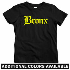 Bronx Gothic NYC Kids T-shirt - Baby Toddler Youth Tee - New York 718 Hip-Hop NY