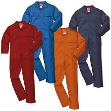 Portwest Coverall Bizweld Flame Resistant Overall FR Boilersuit Welders Workwear