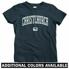 Christchurch New Zealand Kids T-shirt - Baby Toddler Youth Tee - Canterbury Gift