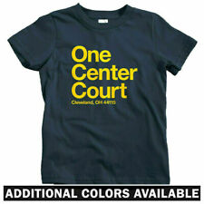 Cleveland Basketball Stadium Kids T-shirt - Baby Toddler Youth Tee - Cavaliers
