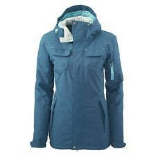Kathmandu Stromsdal Womens 2 Layer Waterproof Snow Ski Sport Jacket v3 Blue New