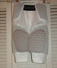 Nike Adult Pro Combat Hyperstrong Football Shorts 533045 White $80 NWT S & XL