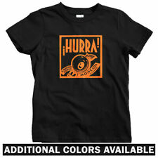 Hurra Kids T-shirt - Baby Toddler Youth Tee - Spain Espana Spanish Vintage Cafe