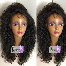 """Cheap 100% Indian Remy Human Hair Lace Front/Full Wig 12""""-24"""" Woman Curly Wigs"""