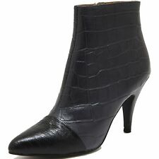 78161 tronchetto JEFFREY CAMPBELL JESSA scarpa stivale donna boots shoes women