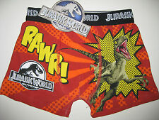 Boys official Jurassic World Park boxer pants shorts ages 2-3. 3-4 and 5-6 BNWT