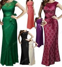 Women Evening Party Lace Long Dresses Elegant Prom Fashion Casual Ladies maxi