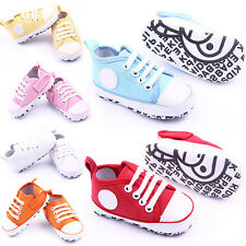 Lovely Kids Infant Toddler Sneakers Baby Boy Girl Soft Sole Crib Shoes Age 0-18M