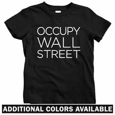 Occupy Wall Street Kids T-shirt - Baby Toddler Youth Tee - 99 Percent Banker NYC