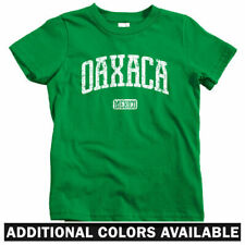 Oaxaca Mexico Kids T-shirt - Baby Toddler Youth Tee - Mexican City Mixtec Raza